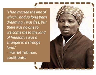 photo of abolitionist Harriet Tubman