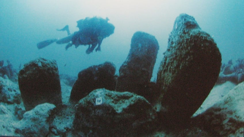 Underwater city of Atlit-Yam Israel