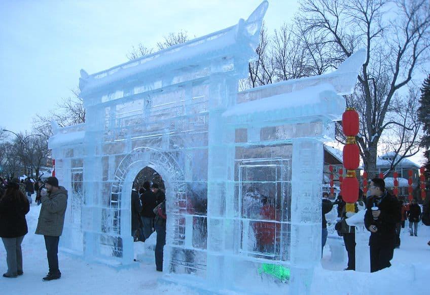 large ice gate
