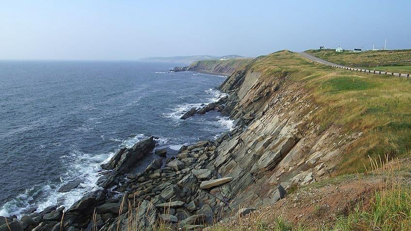 Atlantic ocean off the East Coast.