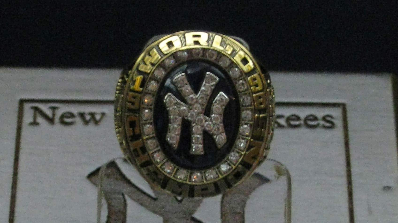 photo of World Series ring