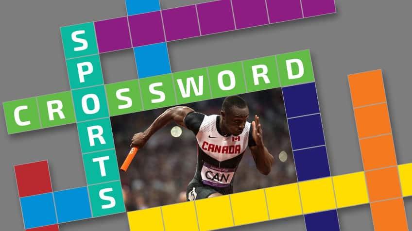 Super sporty crossword puzzle