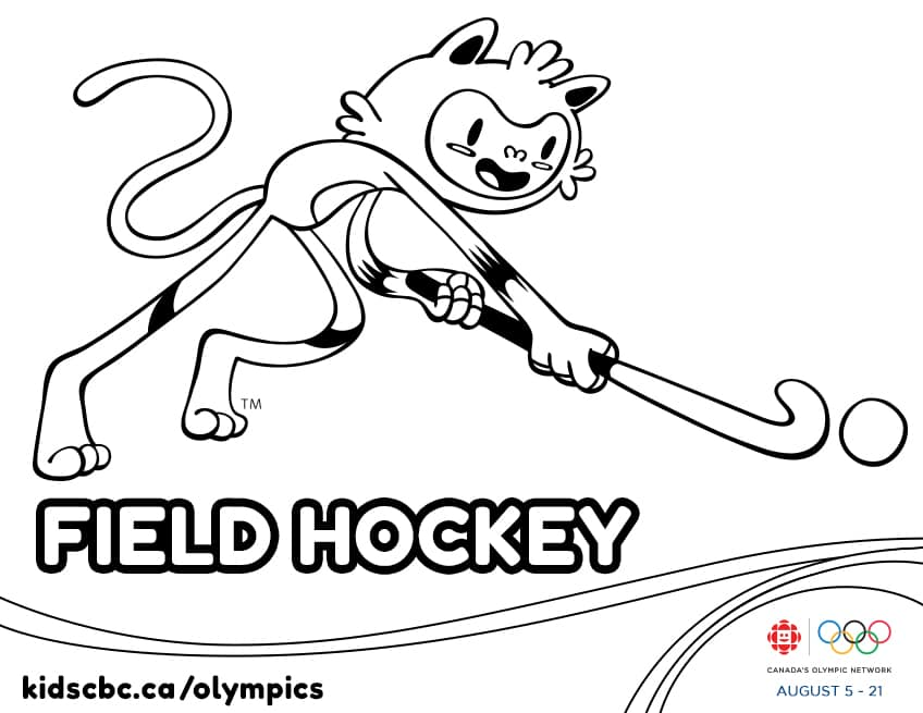 field hockey printable coloring pages - photo#20