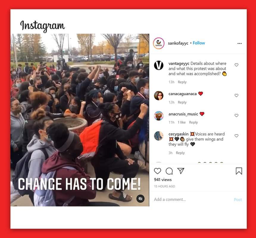 Calgary Teens Protest After Principal Uses N Word Article Kids News