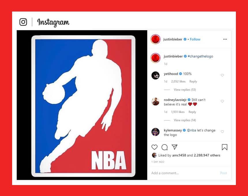 B C Kid Wants The Nba Logo To Change To Kobe Bryant And
