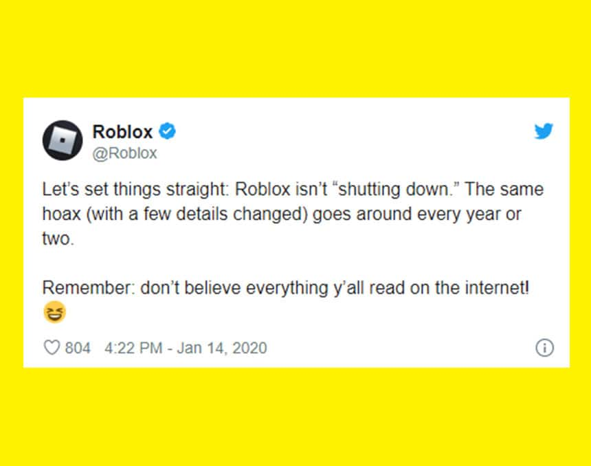 Don T Panic Roblox Minecraft And Fortnite Are Not Shutting Down