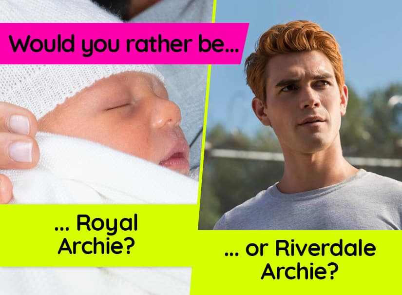 Would you rather be Royal Archie or Riverdale Archie? | Quiz