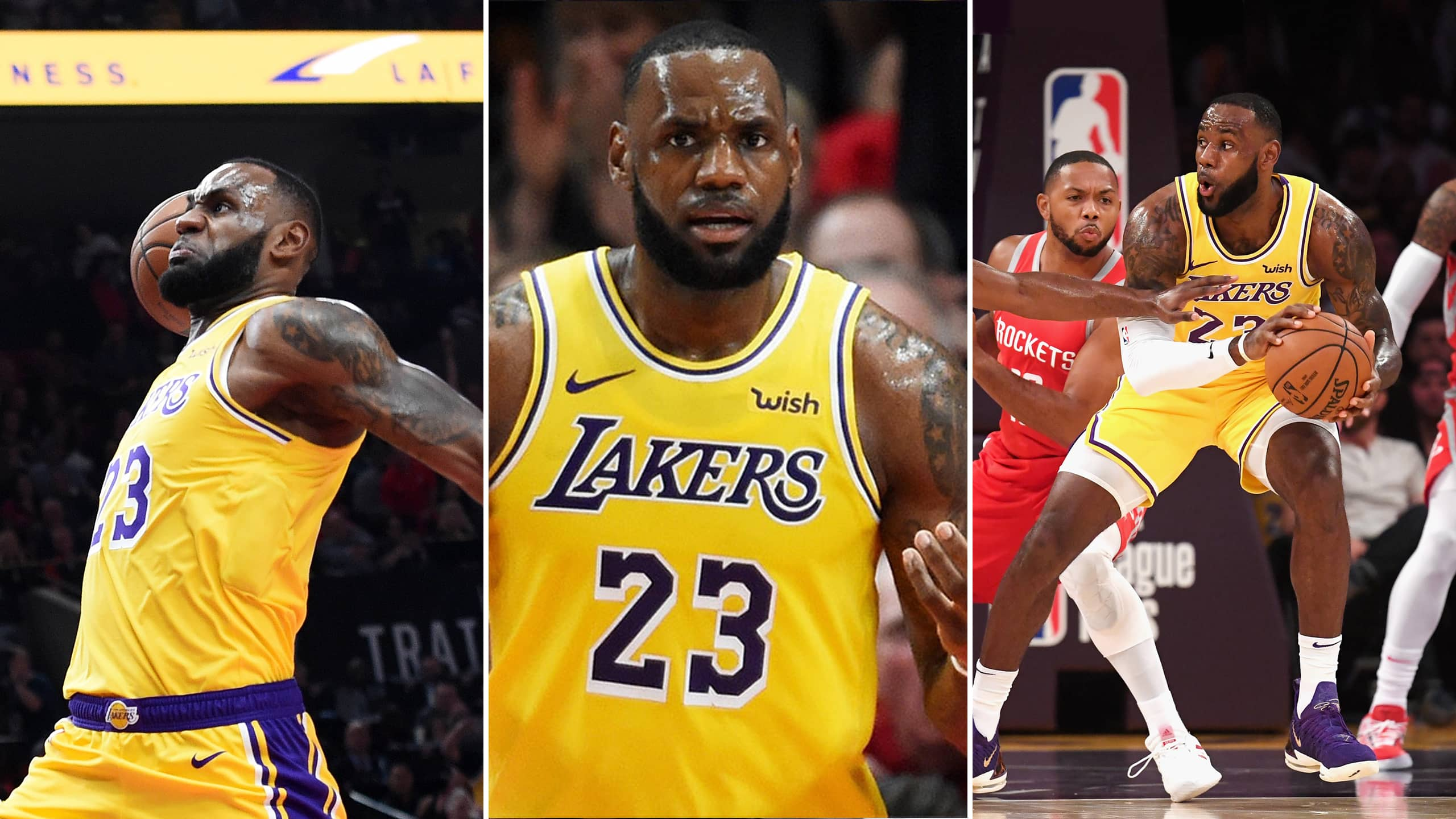 44f87fea96d LeBron James played his first game at the Staples Centre as a Laker on  Saturday