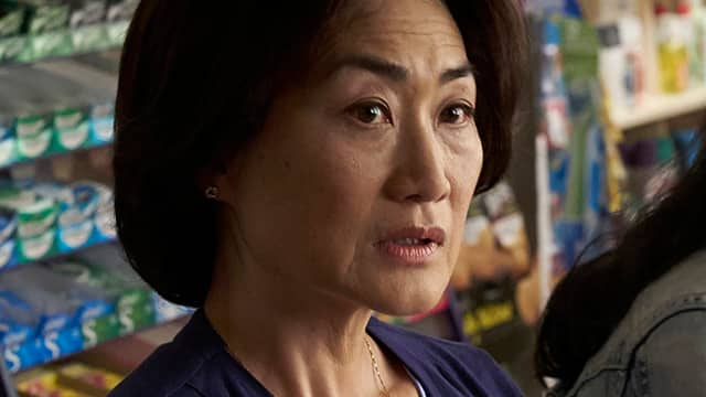 Jean Yoon as Umma on Kim's Convenience felt that some storylines and jokes were racist.