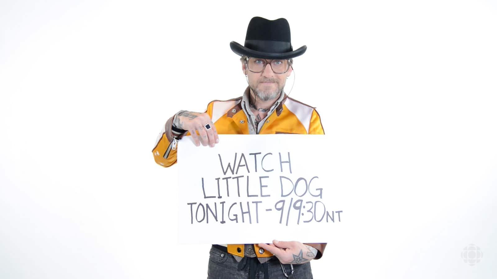 Watch Little Dog tonight!