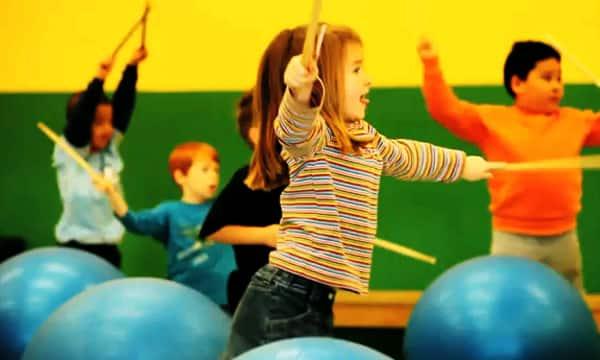 DrumFIT gets kids active