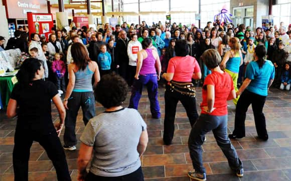 edmundston zumba demo