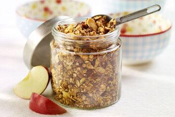 Granola facile aux graines de lin