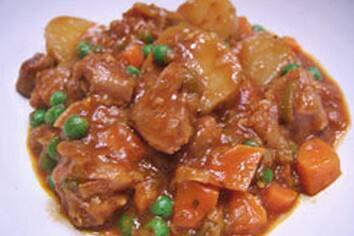 Ragoût d'agneau aux petites pommes de terre