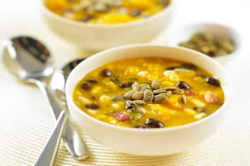 Butternut Squash & Black Bean Chowder
