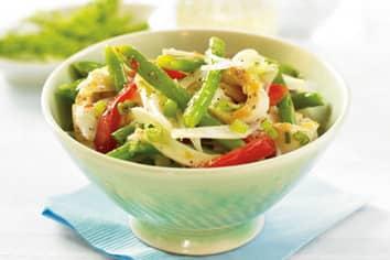 Green Bean and Fennel Chicken Salad