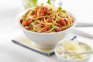 Best Tomato and Pancetta Spaghetti