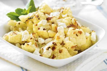 Hot and Cool Roasted Cauliflower