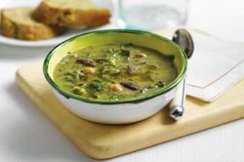 Soupe paysanne à la bette à carde
