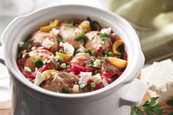 Mediterranean Chicken with Feta Topping