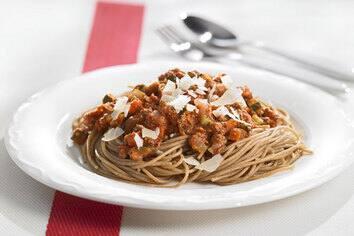 Sauce spaghetti à la viande et aux légumes