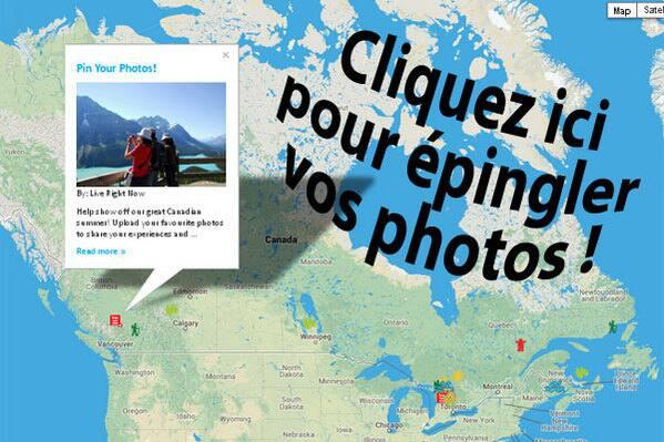 Où sortez-vous explorer le Canada ?
