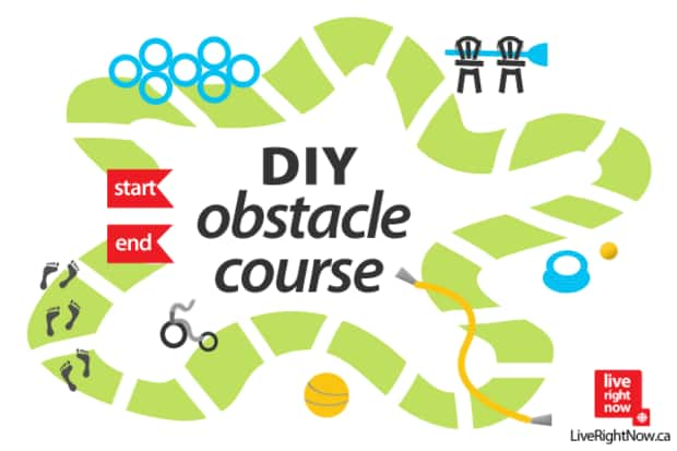 Build Your Own Obstacle Course Live Right Now 2013 2014
