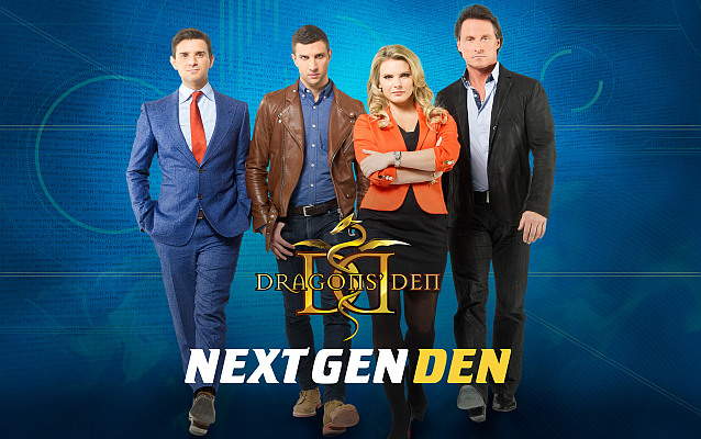 DRAGONS' DEN PRESENTS THE NEXT GEN DEN, TARGETING CANADIAN BUSINESS START-UPS THROUGH AN ONLINE PLAT