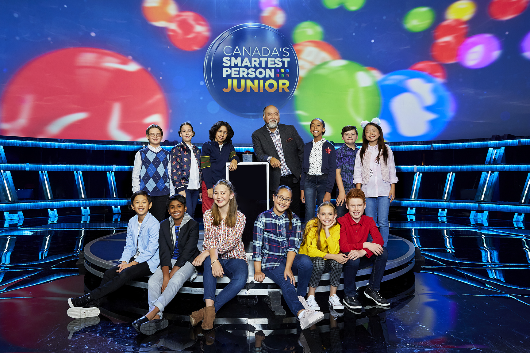 CBC ANNOUNCES THE 12 CANADIAN KIDS VYING FOR THE TITLE OF CANADA'S SMARTEST PERSON JUNIOR HOSTED BY