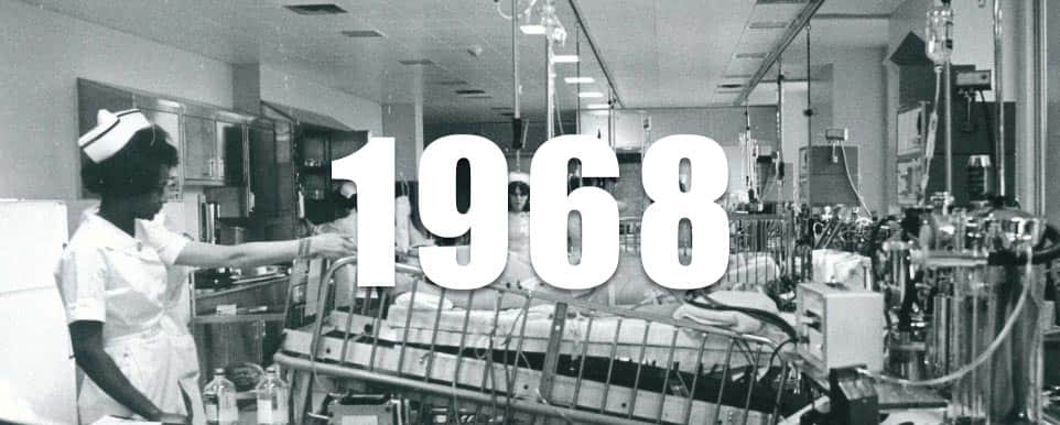 1968 - The PICU opened at SickKids, one of the first in North America