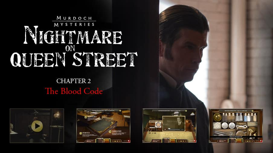 Chapter Two: The Blood Code