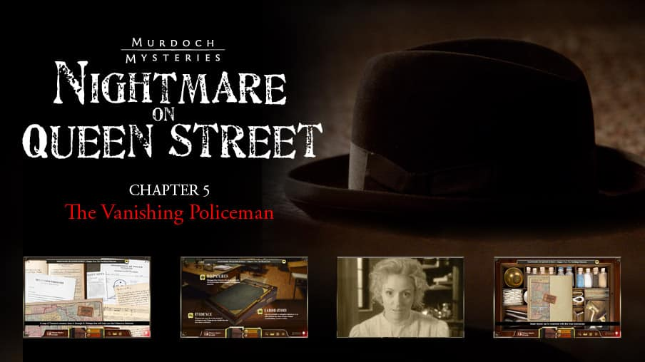 Chapter Five: The Vanishing Policeman
