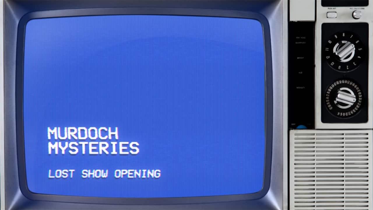 Murdoch Mysteries Lost Retro Opening