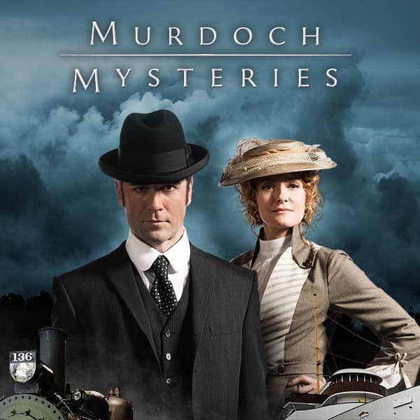 MURDOCH MYSTERIES MY FAVOURITE TV SHOW - cover