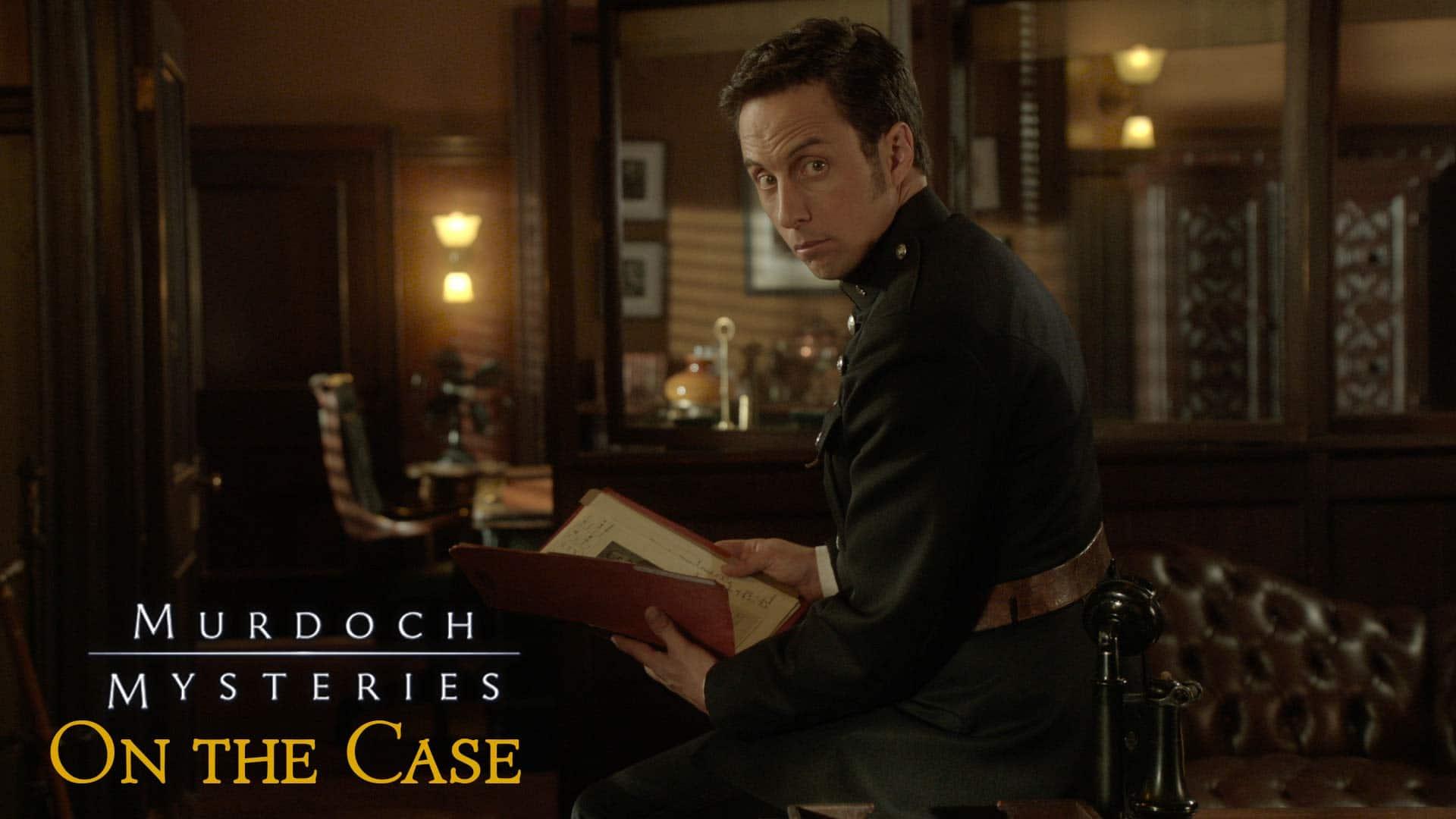 Murdoch Mysteries: On the Case logo