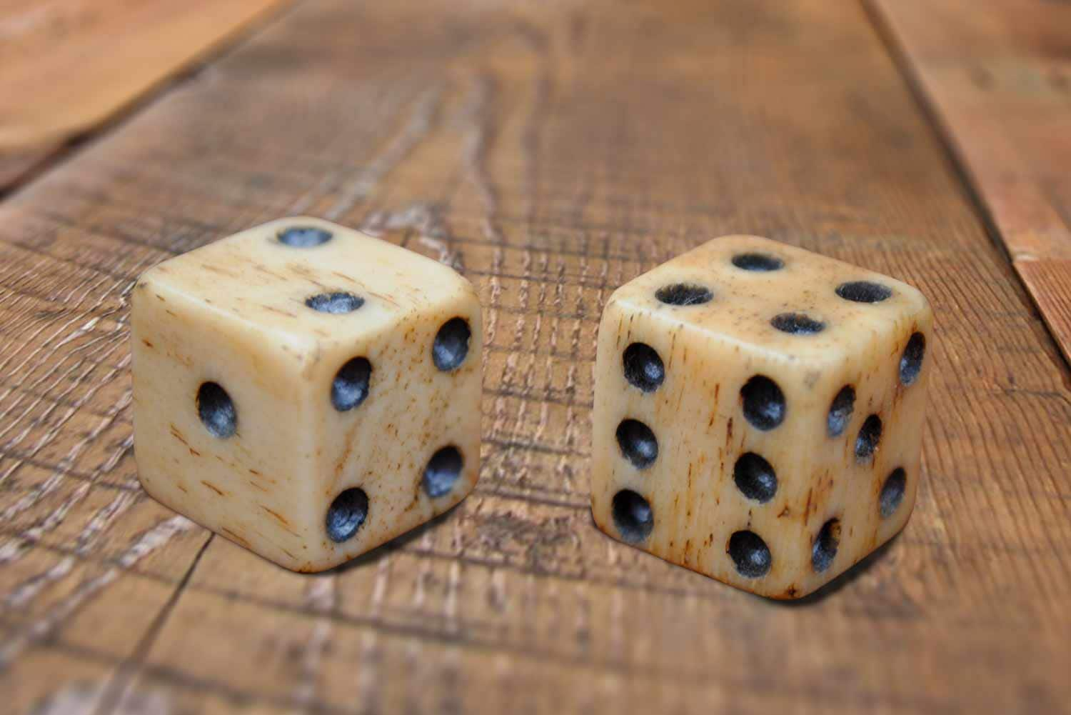 A pair of loaded dice.