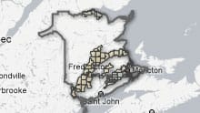 Fractured Future: NB Shale Gas Rights Map