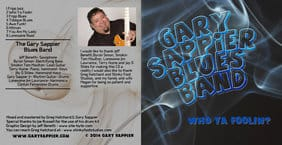 Music review:  Gary Sappier Blues Band - Who Ya Foolin'?