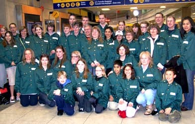news in depth vimy ridge remembered teacher essay students parents and staff from okotoks alberta dressed in replica military uniforms prepare for their trip to vimy ridge patti edgar