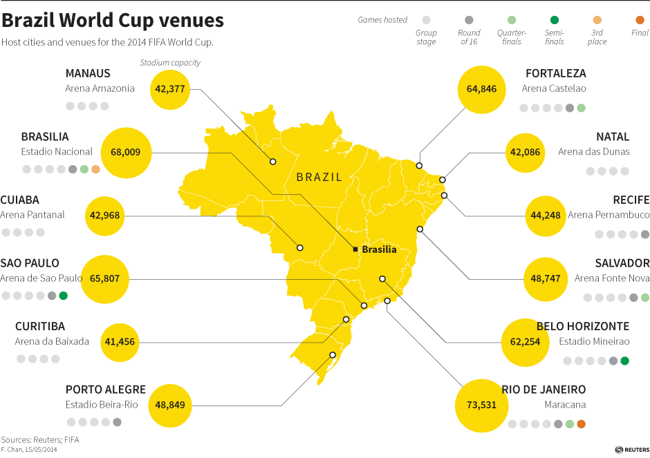 Brazil by the numbers  CBC News  Latest Canada World