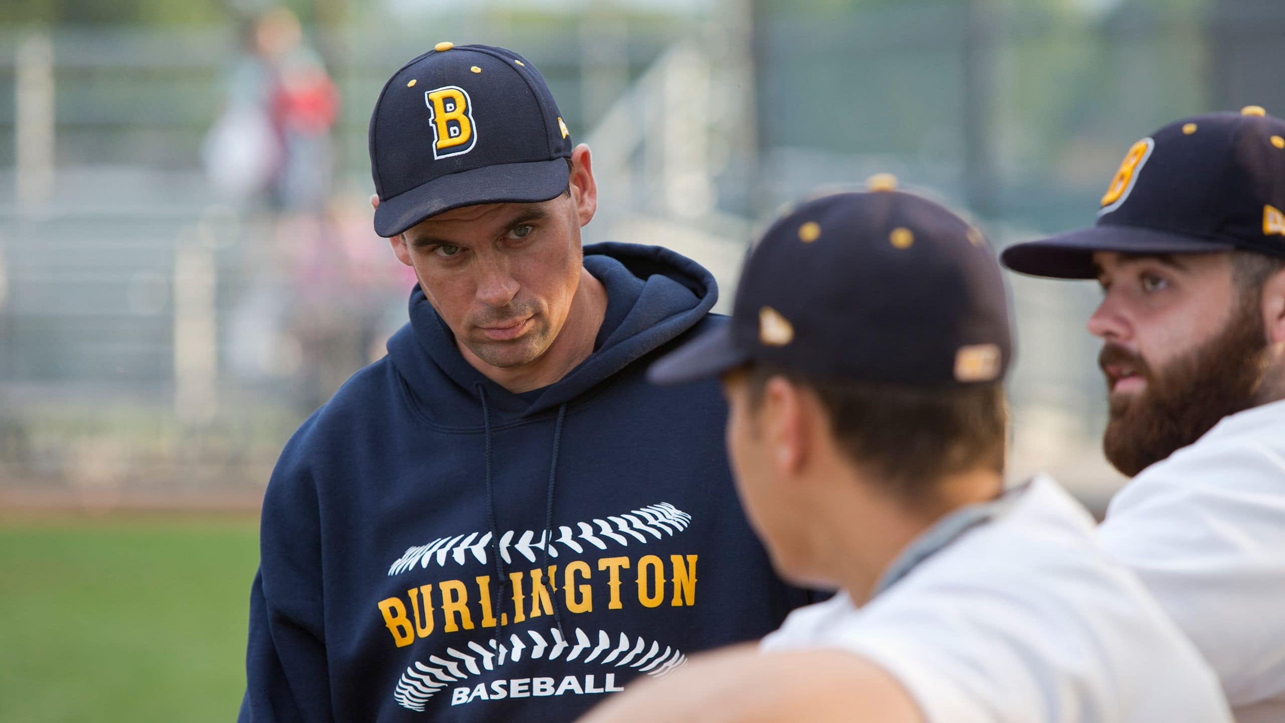 Pagan helps coach the Burlington Bulls, an under-21 team. (Evan Mitsui/CBC)