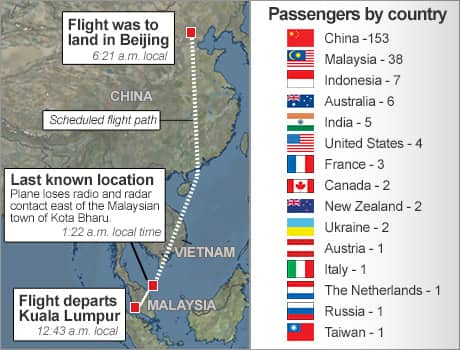 Malaysia Airlines MH Maps Background Search Details CBCNewsca - Airline flights map of france to us