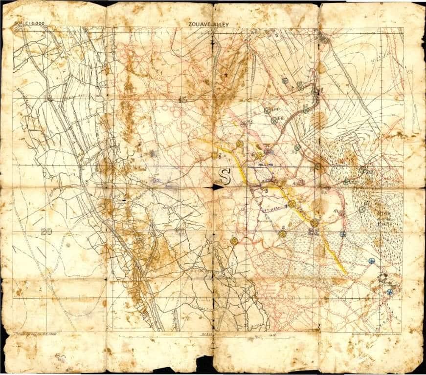 Map Of France Vimy.Vimy Ridge