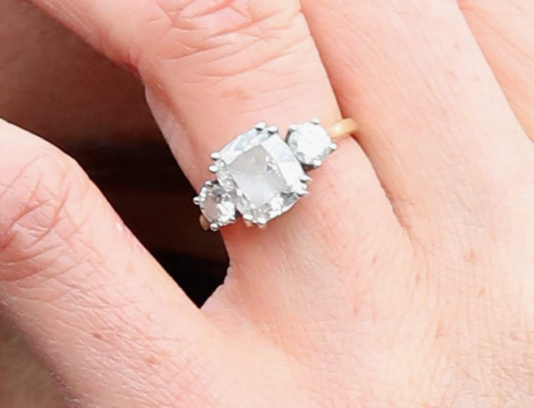 Meghan Markle Diamond Ring
