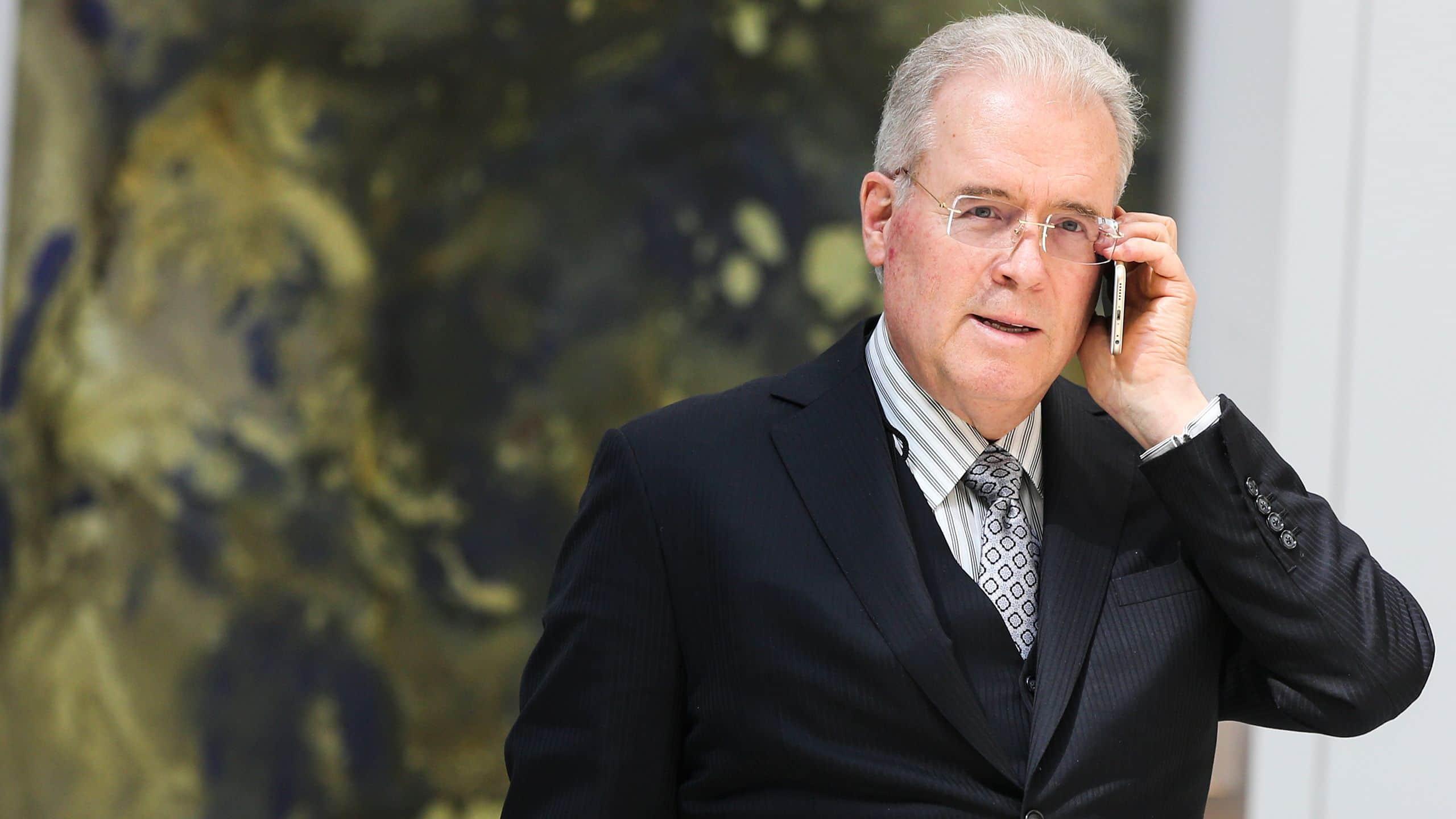 Money man: U S  billionaire Robert Mercer helped Trump win