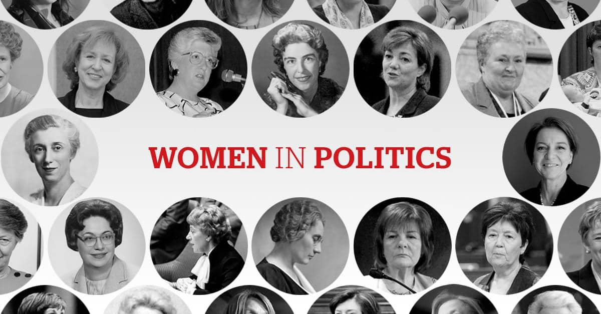 the issues of gender gap in women in politics in moving beyond the gender gap an article by abby m m
