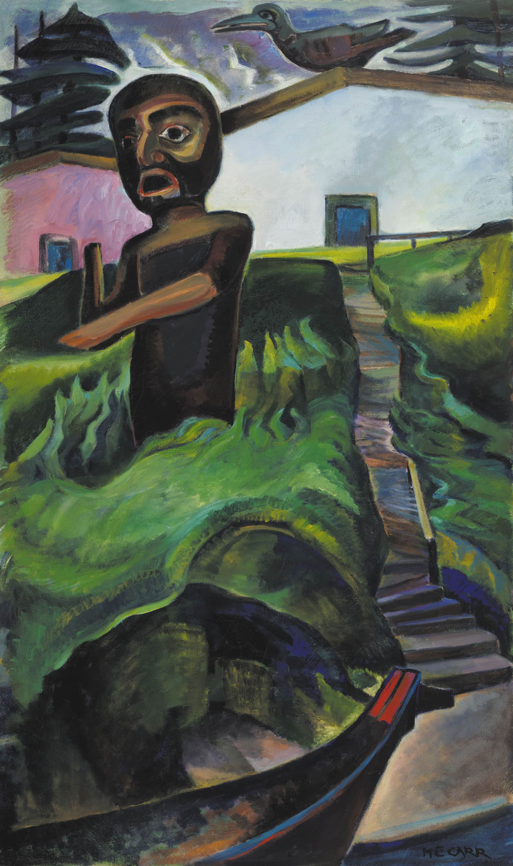 Emily Carr: The Crazy Stair (aka The Crooked Staircase)