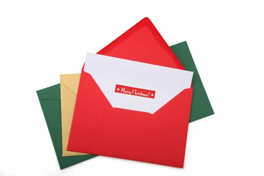 Holiday cards do you still mail them out point of view istockchristmas cardg m4hsunfo