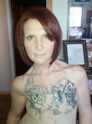 Kelly Davidson, breast cancer survivor
