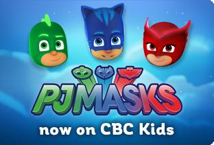 PJ Masks now on CBC Kids